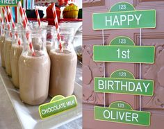 Sesame Street Labels AND Welcome Sign, Sesame Street Birthday. $9.50, via Etsy.