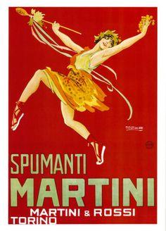 Martini & Rossi - Spumanti Martini Stampa artistica
