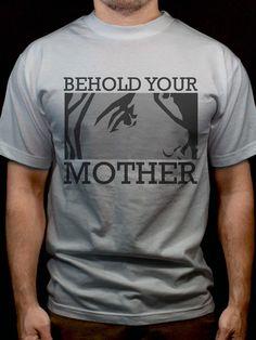 Behold Your Mother Tshirt  #DeiGratia #Christian #Catholic #Christ