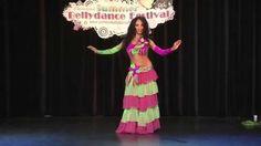 """Actuación de Alina Babayan en el festival de Danza Oriental """"Internation Summer Bellydance Festival"""" celebrado en el 2013 en Holanda."""