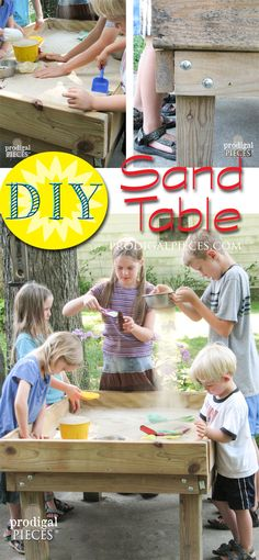 DIY Sensory Fun Sand Table by Prodigal Pieces www.prodigalpieces.com #prodigalpieces