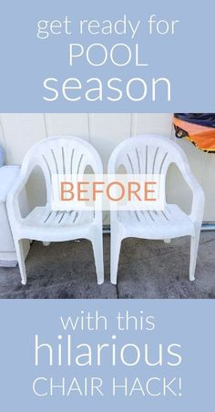Hallway Home Decor You might want to rethink your backyard chairs when you see these updates Hometalk Partner . Backyard Chairs, Pool Chairs, Garden Chairs, Patio Makeover, Chair Makeover, Furniture Makeover, Lifeguard Chair, Oak Plywood, Diy Bird Feeder