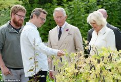 Can one forage at Highgrove? Prince Charles and Camilla get a lesson in wild food from Hug...
