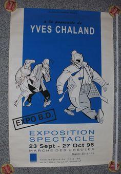 Chaland, Yves - Siebdruck (Silkprint) - Freddy Lombard (1996) - W.B.