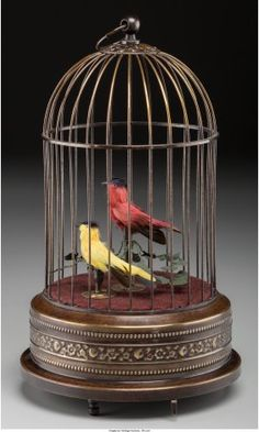 61986: A Continental Bird Cage Automaton, 20th century