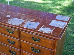 Refinishing Old Furniture: How To Remove The Original Finish With Chemical Paint Stripper