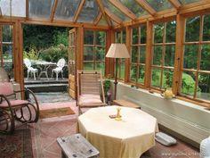 enclosed porch, irish home