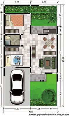 Amazing Beautiful House Plans With All Dimensions - Engineering Discoveries Small House Floor Plans, Dream House Plans, The Plan, How To Plan, Beautiful House Plans, Model House Plan, Best Flooring, Small House Design, Home Design Plans