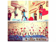 Little Warriors: 4 Valentines, and a Vision in a Rainstrom