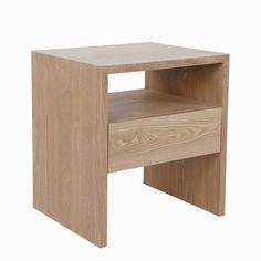 Bedside Table Design, Table, Wood Veneer, Bathroom Top, Medicine Cabinet Shelves, Furniture Bedside Table, Bedside, Open Storage, Beautiful Wood