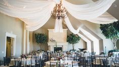 Love the draping from the single chandelier in center of the ballroom.  Comments:Gemjunkiejewels