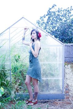Open Back Fairy Dress Boho dress Wrap Dress Womens by Picarona