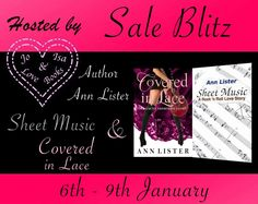 Jacklynn Love's Reading: Sale Blitz: Sheet Music & Covered In Lace by Ann L...