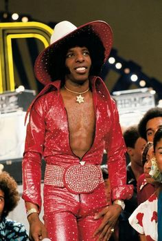 Sly Stone...I loved his voice..so sexy!!!