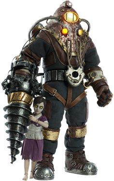 Subject Delta and Little Sister Sixth Scale Figure