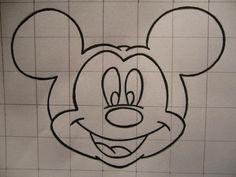 Como desenhar a cara do mickey - 10 passos (com imagens)