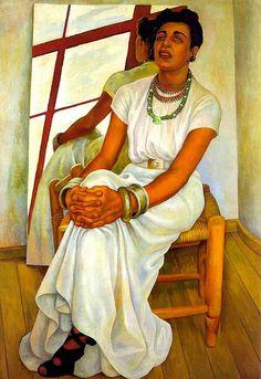 Diego Rivera, Portrait de Lupe Marín