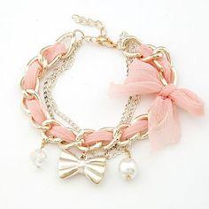 Pink, bows & pearls