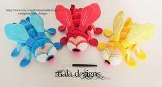 ❤ Flies, crochet pattern by mala designs