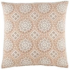 A decorative pillow perfect for the designer who enjoys bringing a world traveler's interest into a space.