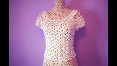 Crochet  blouse for women MAJOVEL CROCHET