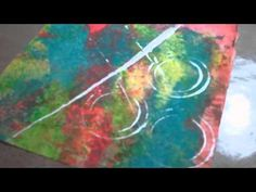 Backgrounds Using Recycled Materials.wmv