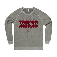 love trevor moran | XL Heather Grey T-Shirt Skreened https://www.amazon.com/dp/B01F6KZ9VI/ref=cm_sw_r_pi_dp_x_qkumybTTE37Z2