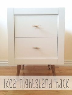 From House to Home: Ikea Nightstand Hack