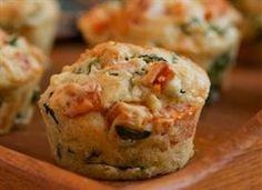 sweet potato, kale & feta muffins.....with a few mods to meet my lifestyle