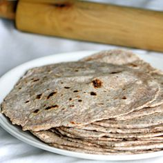 Flatbread made with whole wheat flour
