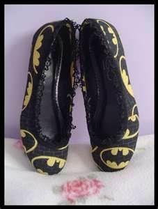 batman shoes.  PLEASE!