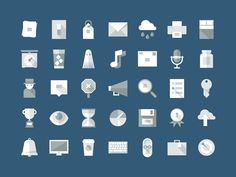 Flat Shadows, a series for to [icon] on Behance