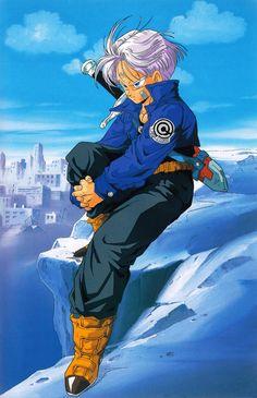 """80s & 90s Dragon Ball Art — artbookisland: Scan from Daizenshuu """"TV..."""