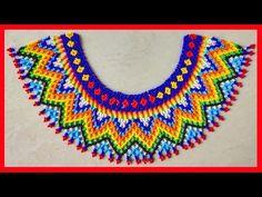 Hama Beads, Crochet Necklace, Youtube, Jewelry, Manualidades, Jewlery, Jewerly, Schmuck, Jewels
