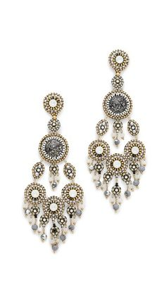 Miguel Ases Lindsay Earrings #Shopbop #MakeTheOutfit