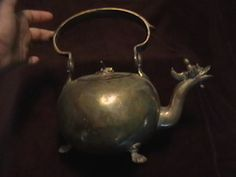 Dragon Tea kettle made in Belgium