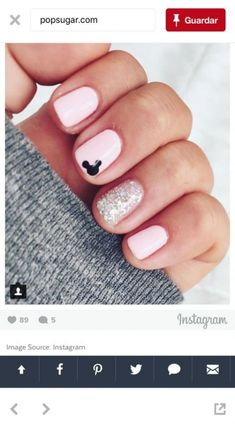cute nails for kids ; nails for kids cute short ; cute unicorn nails for kids ; cute acrylic nails for kids Disney Nail Designs, Nail Art Designs, Nails Design, Nail Designs For Kids, Pedicure Designs, Manicure Nail Designs, Trendy Nails, Cute Nails, Hair And Nails
