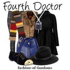 """""""Fourth Doctor"""" by fofandoms on Polyvore"""