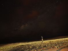 Stargazer, Lake Malawi Photograph by Chris Cannucciari  Lake Malawi, Africa. A stargazer looks into the endless cosmos as waves lap along a beach in Southern Malawi.  This Month in Photo of the Day: Travel Photos