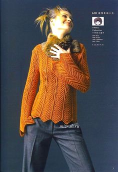 Классика: пуловер спицами. Комментарии : LiveInternet - Российский Сервис Онлайн-Дневников