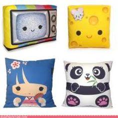 Cute anime pillows <3