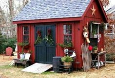 Cute shed.