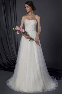Tulle souple robe de mariee