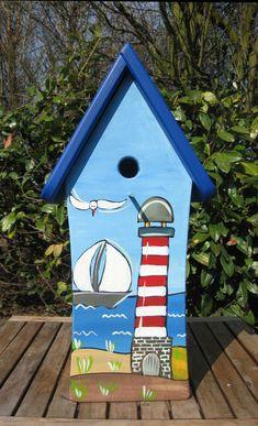 Nistkästen & Vogelhäuser - Vogelhäuschen - Maritim - ein Designerstück von personalisiertes bei DaWanda
