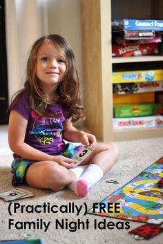Practically Free Family Night Ideas | Life as MOM