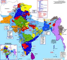 History Discover 13 Fascinating Maps Thatll Change The Way You See India Lets roll back the years a little and take a quick look at pre-independence India. 13 Fascinating Maps Thatll Change The Way You See India India World Map, India Map, 1947 India, Pakistan, Geography Map, Shillong, States Of India, Historical Maps, History Facts