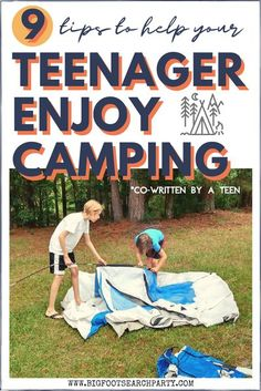 In a time when kids are virtually plugged in almost nonstop, it can be tough to convince them that unplugging - and hanging out in the woods - could be even remotely fun. But my teenager (Rowen, 14) and I are here to share 9 tips to help your teenager enjoy camping. And hopefully, make it a pastime they continue to enjoy for the rest of their life.