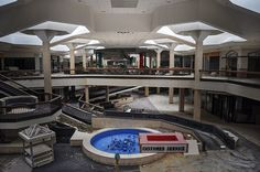 Photographs of Abandoned Shopping Malls by Seph Lawless
