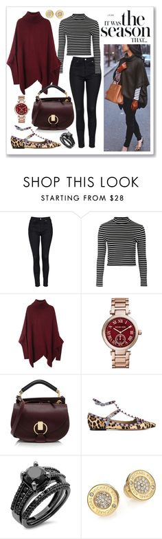"""Untitled #132"" by gogotasha ❤ liked on Polyvore featuring Topshop, Michael Kors, Chloé and Valentino"