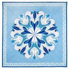 Wow! Awesome Blue Quilt